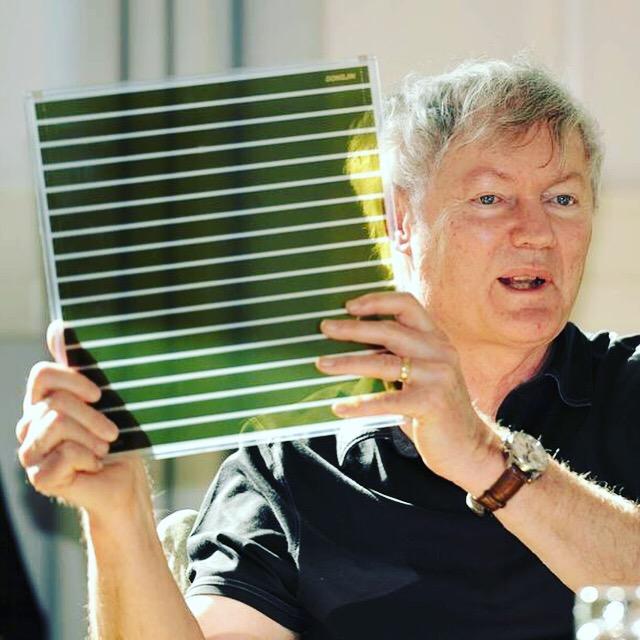 Professor Grätzel en het zonnepaneel
